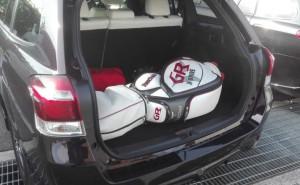 2015年式 カローラフィールダー1.5G ゴルフバッグ