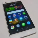 Huawei SIMフリースマホ P8 lite 格安SIM OCNモバイルONEで