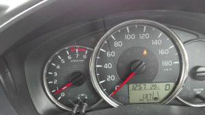 2016/06/30メーター表示燃費