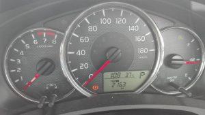 満タン法で計測して11.0km/L