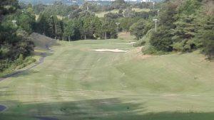 亀山ゴルフクラブ東コース OUT 1番 PAR5