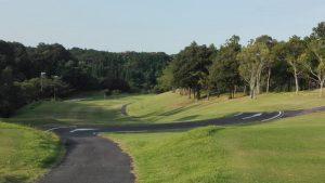 亀山ゴルフクラブナイター 東コース アウト2番 PAR4