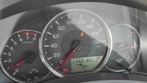 """カローラフィールダー1.5G""""W×B""""実燃費 ガソリン車"""