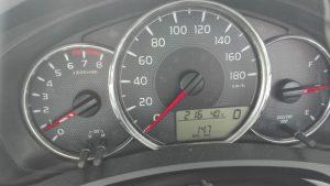 トヨタカローラフィールダー実燃費