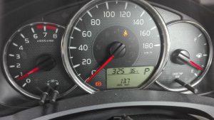 カローラメーター表示燃費