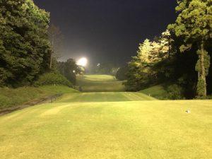 亀山ゴルフのナイター