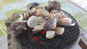三重県津御殿場浜 海の家 かもめ荘 潮干狩り、海水浴、焼貝