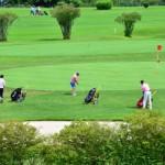 オークモントゴルフクラブ トーナメント グリーンに挑戦?